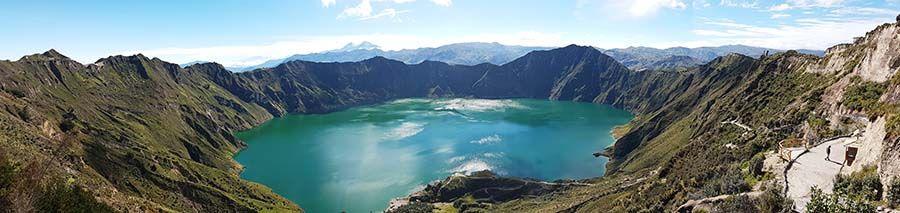 Qué ver en Ecuador - Laguna de Quilotoa