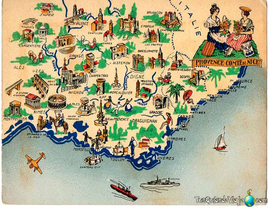 Costa Azul Mapa TGDV