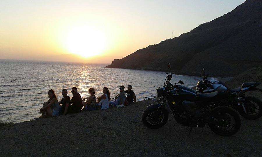 Puesta de Sol Cabo de Gata