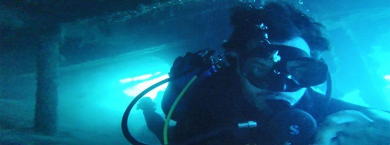 Buceo en barco hundido en Malta