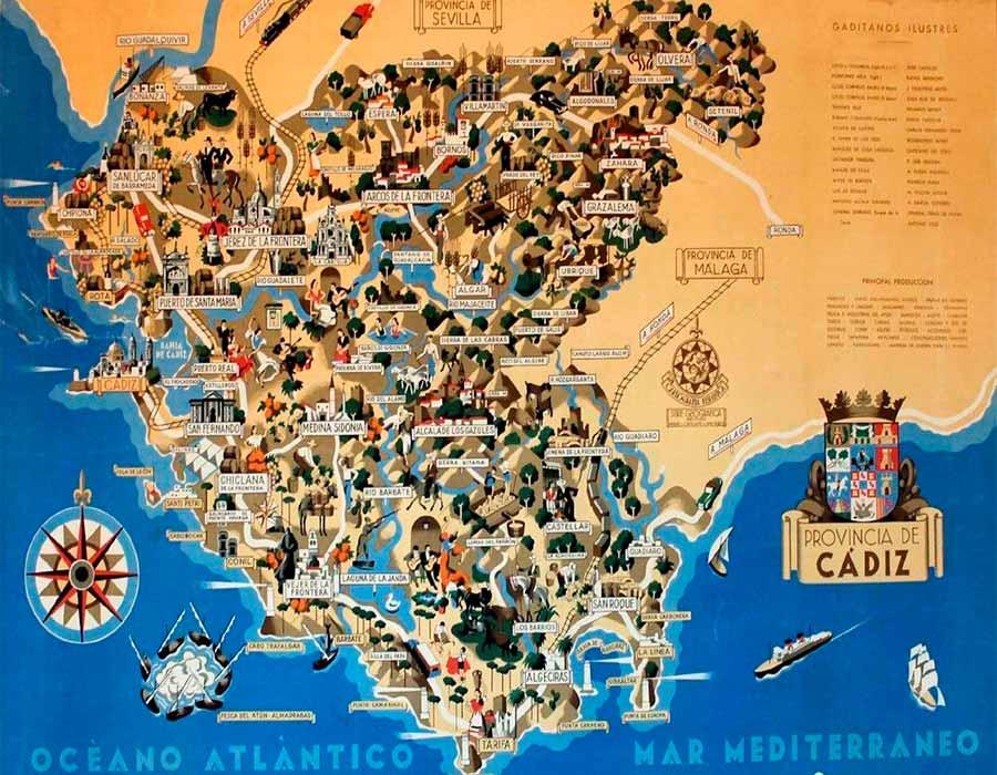 Cadiz Mapa