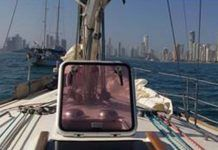 Llegada-en-velero-a-Cartagena