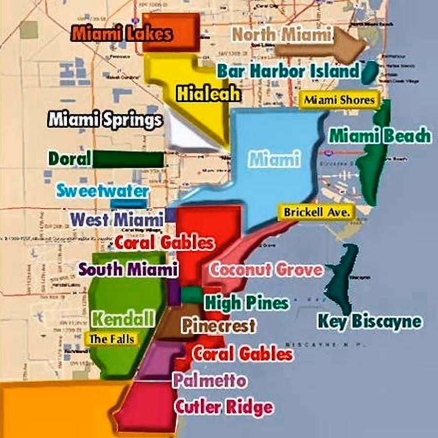 Miami Mapa TGDV