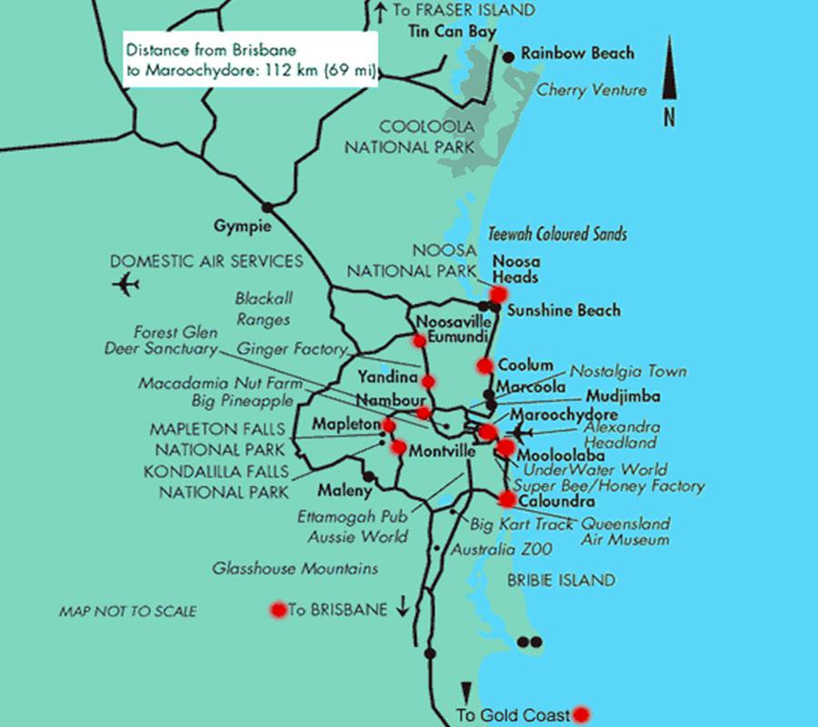 Gold Coast and Sunshine Coast TGDV