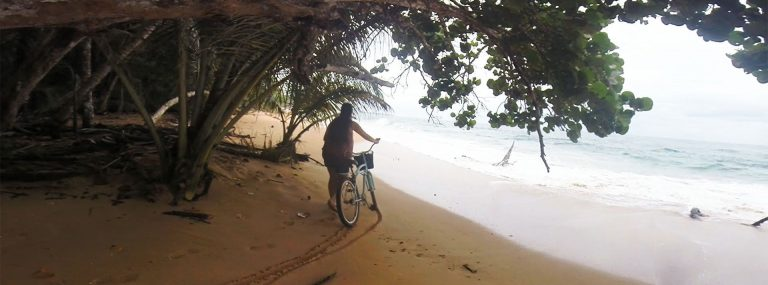 Ruta en bici en Bocas del Toro