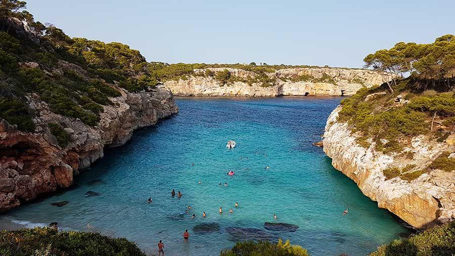Mejores playas de Mallorca - Es Calo del Moro