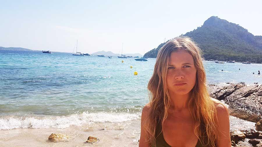Playa de Formentor al norte de Mallorca