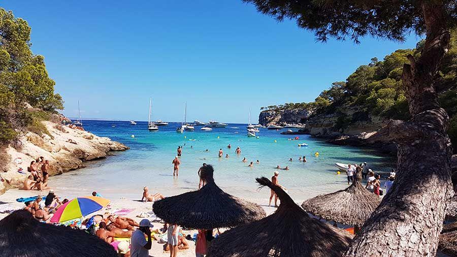 Portalvels - Playa del Mago en Mallorca