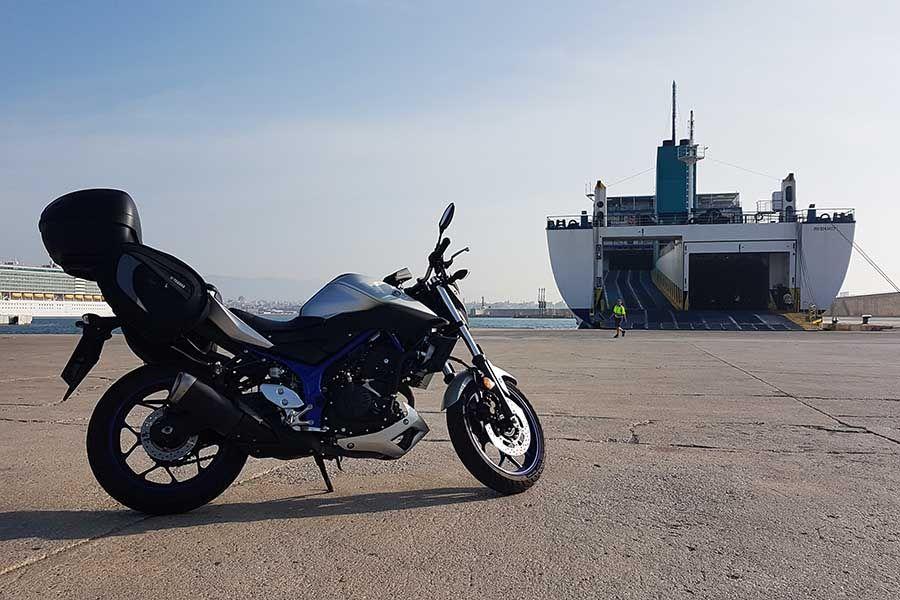 Viajar en moto en Mallorca