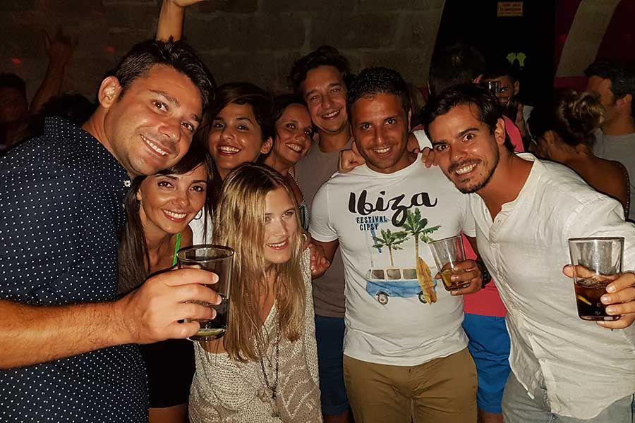 Fiesta en Mallorca