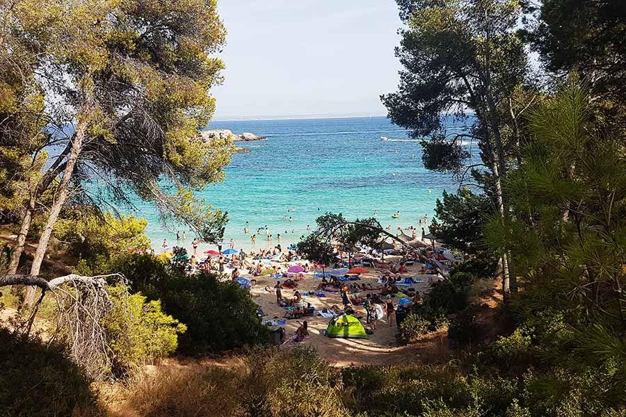 Cala Comtesa en Mallorca