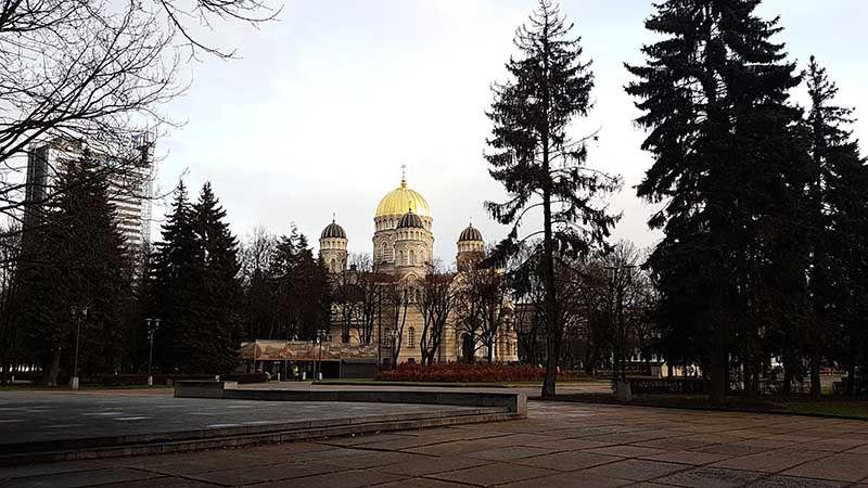 Guia de viaje de Riga - Catedral ortodoxa
