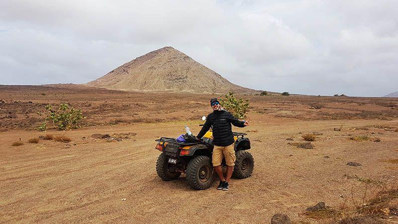 Alquilar moto o quad en Isla de Sal - Cabo Verde