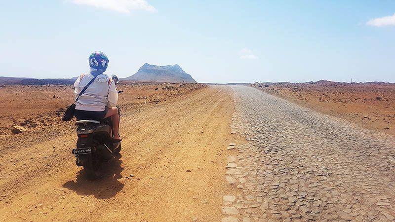 Alquilar moto o quad en Boa Vista -Cabo Verde