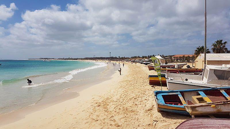 Playas en Cabo Verde