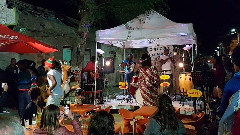 Musica en directo en Santa María Isla de Sal