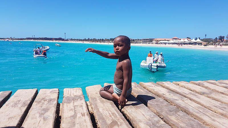 El Pontao en Santa Maria - Cabo Verde