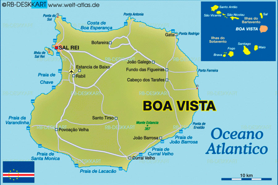 Mapa Boa Vista