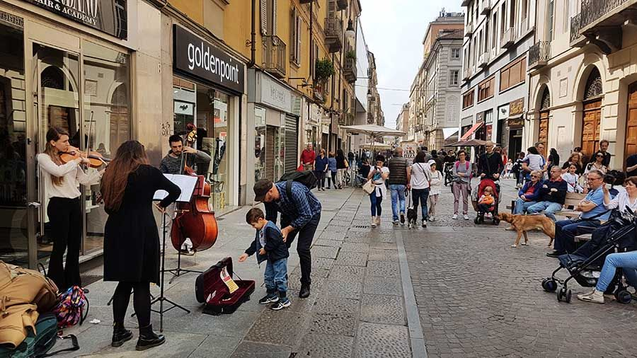 Ruta 1 día centro de Turín
