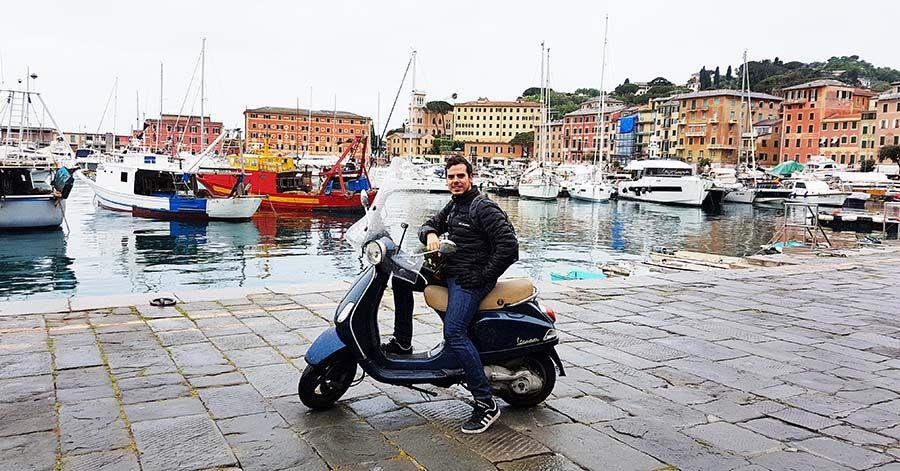 Ruta en moto por Liguria