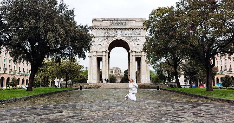 Arco de la Victoria Genova