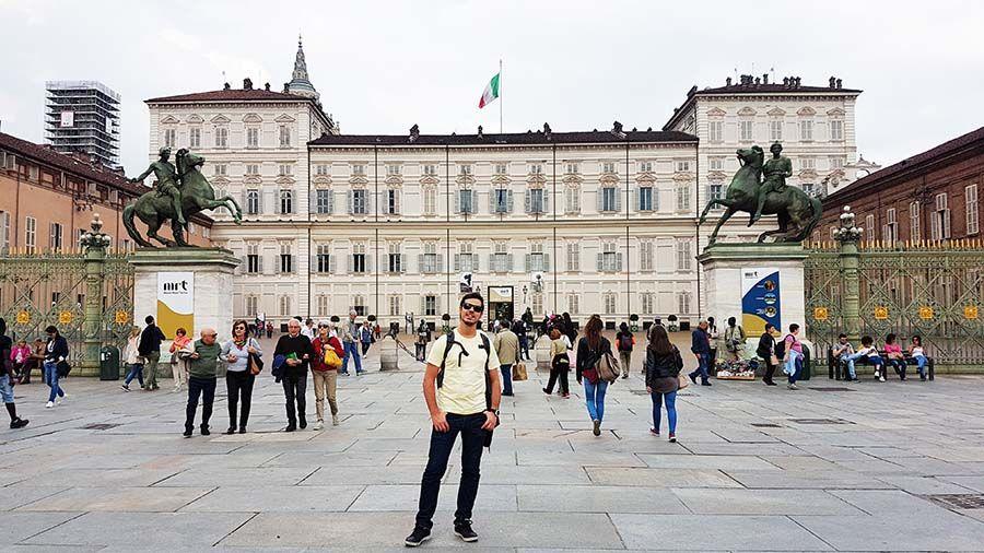 Plaza del Castillo Turin