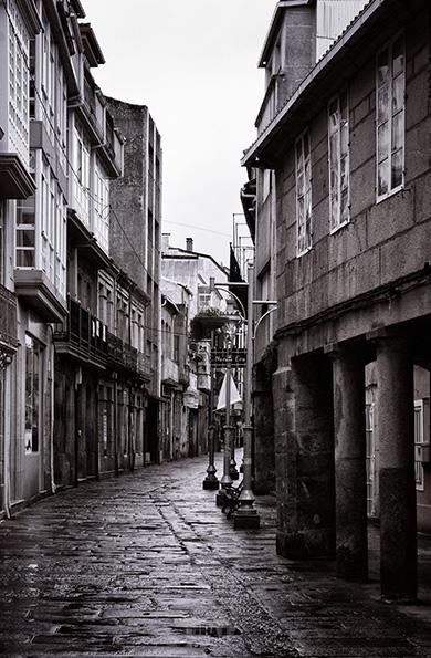 Caldas de Reis - Rúa Real