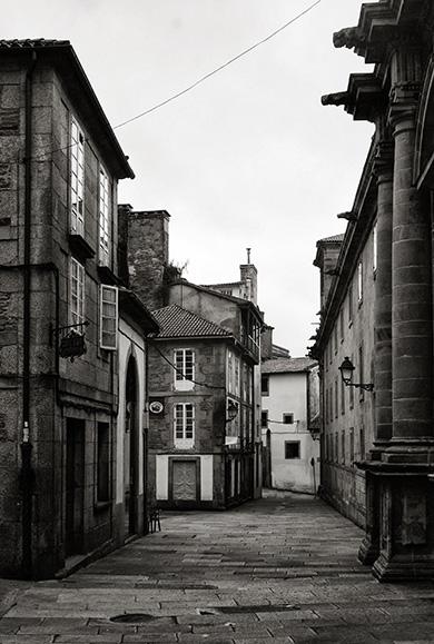 Santiago de Compostela - Rúa das Ámeas