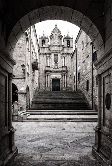 13 - Ourense - Rúa Santa María