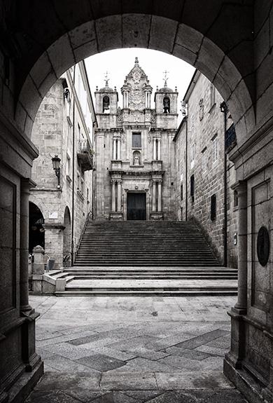 Ourense - Rúa Santa María