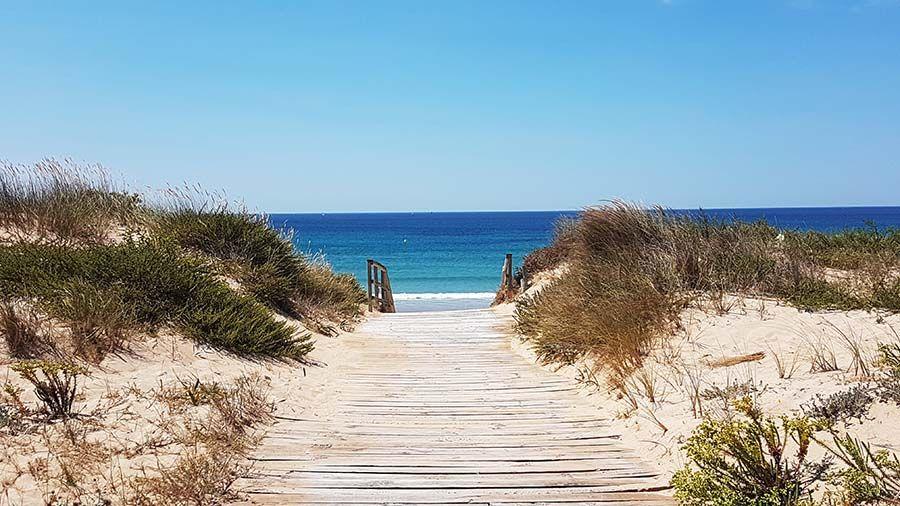 Playa de la Lanzada en Galicia
