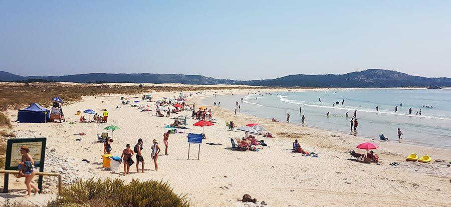 Mejores playas de Galicia-Dunas de Corrubedo
