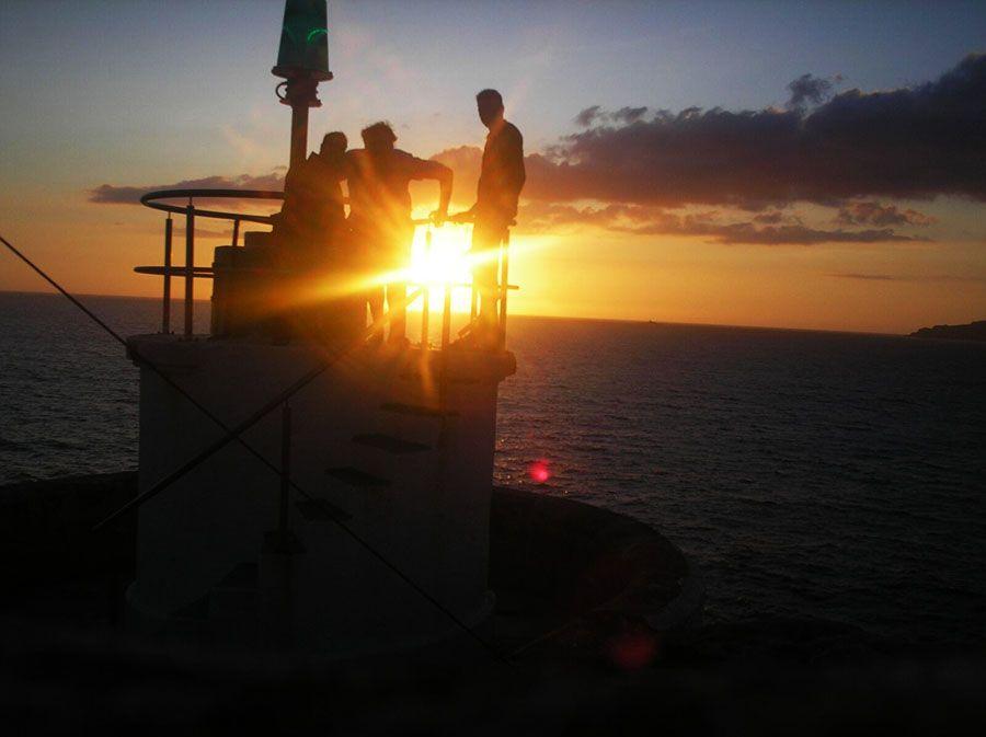 Puesta de Sol en Faro Monte Ferro