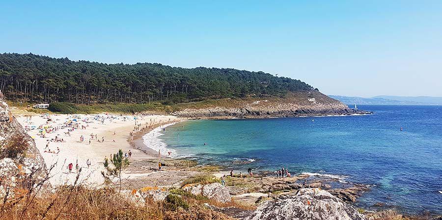 Como llegar a Playa de Melide