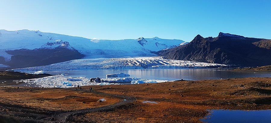 Glaciar más grande de Islandia Vatnajökull