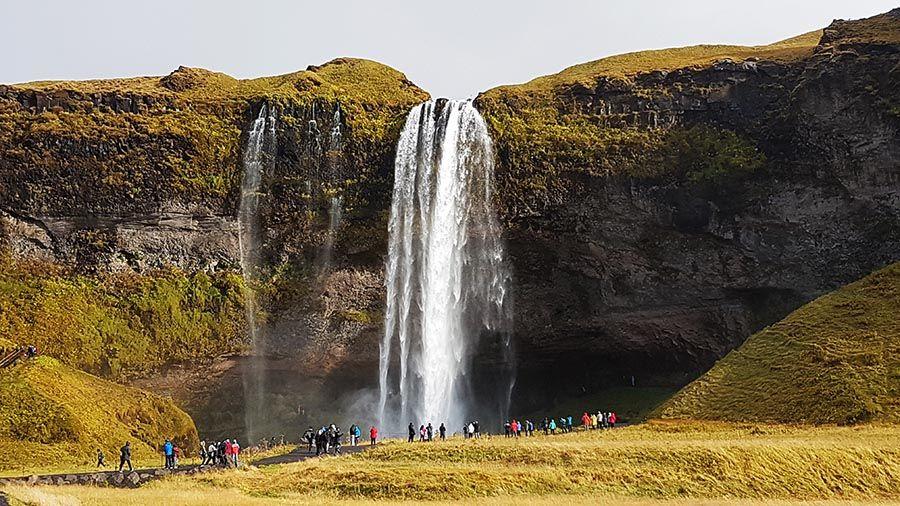 Cataratas de Islandia