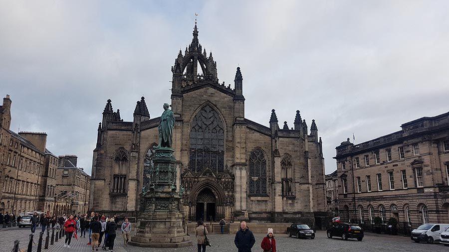 Catedral St Giles en Edimburgo