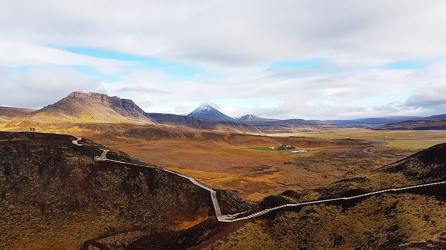 Lugares de interés en Islandia