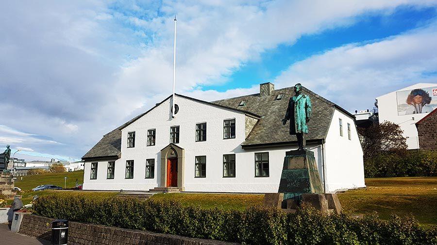 Casa del primer ministro de Islandia