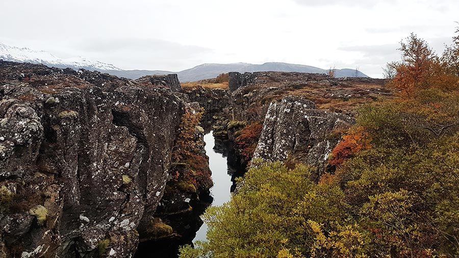 Sima mas famosa de Islandia Silfra