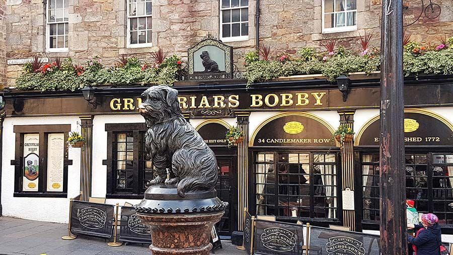 Perro Bobby en Edimburgo