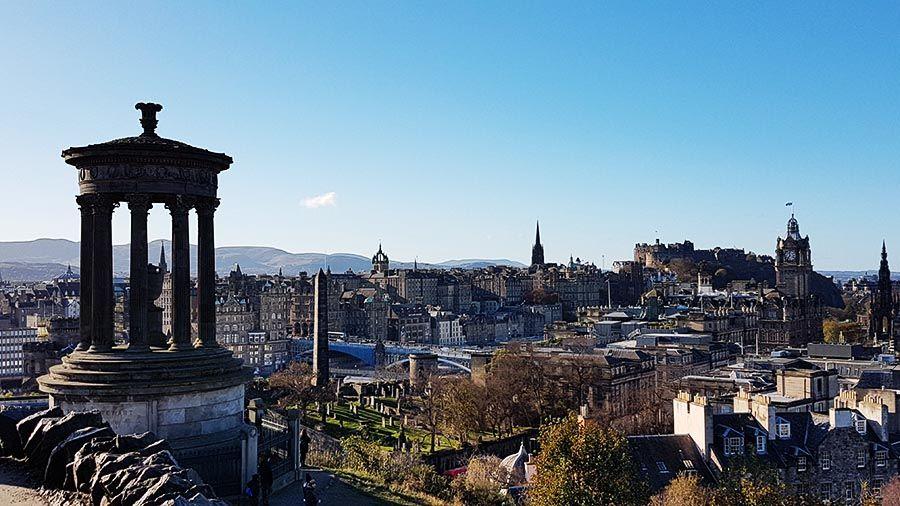 Calton Hill en Edimburgo-Miradores de Edimburgo