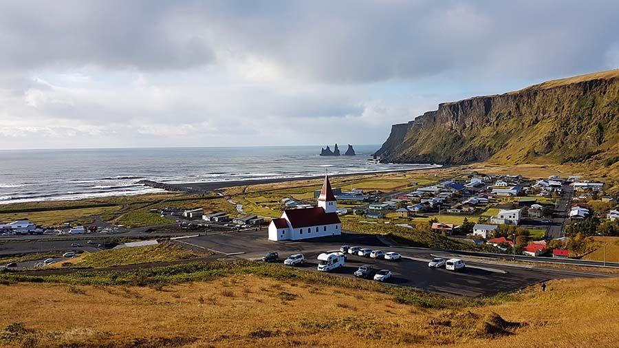 Playas en Islandia Vík í Mýrdal
