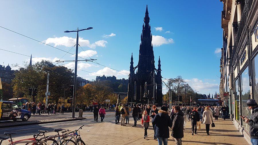 Guia de turismo de Edimburgo-Monumento Scott