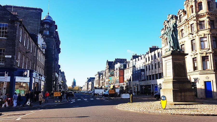 Que ver en la New Town de Edimburgo