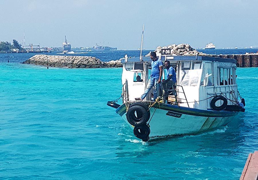 Transporte en Maldivas