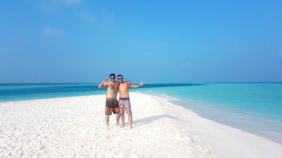 Playas paradisiacas en Maldivas