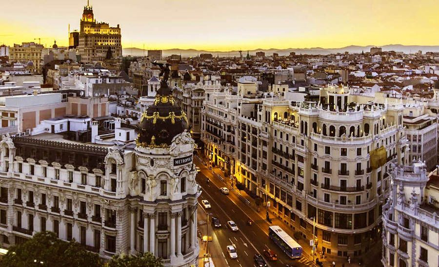 De ruta por Madrid