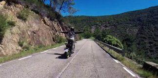 Ruta en moto Las Hurdes y Valle del Jerte