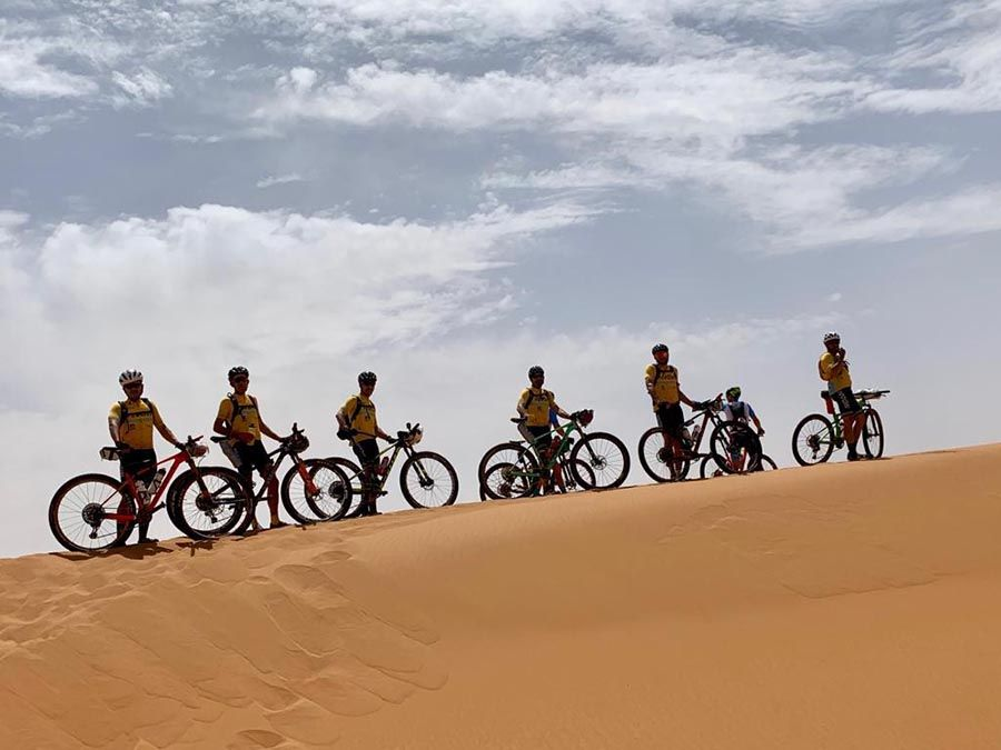 Larry Titan Desert terminada